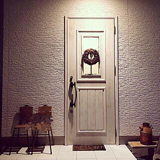 女性家族暮らし4LDK、リクシルのドアに関するanruさんの実例写真