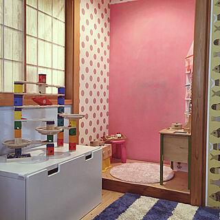 壁/天井/IKEA/ままごとキッチン/ボーネルンド/クッションフロア...などのインテリア実例 - 2018-02-15 09:16:02