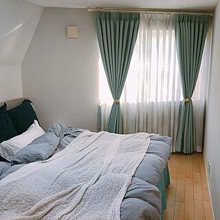ベッドルーム/寝室/Kペイント/DIY/シンプルインテリア...などのインテリア実例 - 2020-12-16 18:37:37