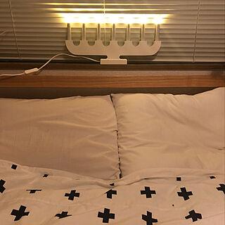 女性家族暮らし4LDK、照明 無印良品のライトに関するMayumiさんの実例写真