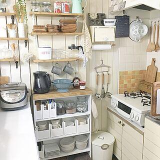 キッチン収納の人気の写真(RoomNo.2745609)