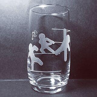 リビング/人間/作るの大好き/ダイソー/グラス...などのインテリア実例 - 2015-06-30 16:13:34