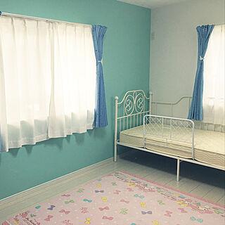 女性家族暮らし3LDK、夢のある子供部屋に関するyuuuchan5さんの実例写真