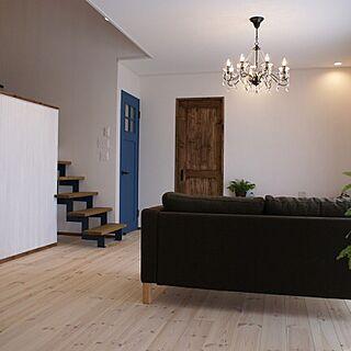 男性家族暮らし、稲妻階段に関するonly-you-homeさんの実例写真