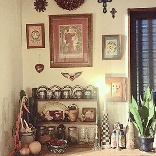 キッチン/サボテン/ガウディ/オアハカ/サンタがいっぱい...などのインテリア実例 - 2017-11-20 17:23:44