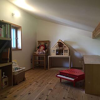 女性44歳の家族暮らし3LDK、子ども部屋 収納に関するyukikoさんの実例写真