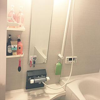 女性24歳の同棲1LDK、風呂場に関するharurunさんの実例写真