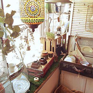 キッチン/岡崎市/ステンドグラス/DIY/家いじりの提案...などのインテリア実例 - 2015-06-24 15:00:50