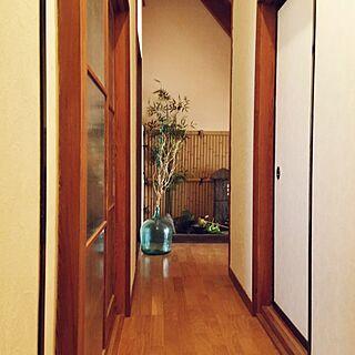 女性57歳の家族暮らし、昭和のガラス戸に関するchocoさんの実例写真