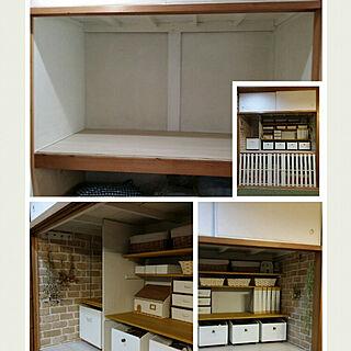 女性家族暮らし4LDK、ウッドBOXに関するk.keikoさんの実例写真