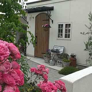 女性家族暮らし3LDK、ガーデンライトに関するreireiさんの実例写真