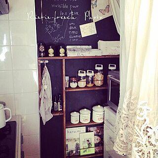 キッチン/へっぽこ大工/shabbby chic/French/vintage...などのインテリア実例 - 2014-09-22 16:39:12