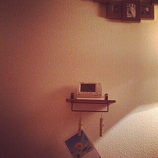 壁/天井/100均/セリア/DIY/寝室の壁のインテリア実例 - 2014-06-18 13:04:44