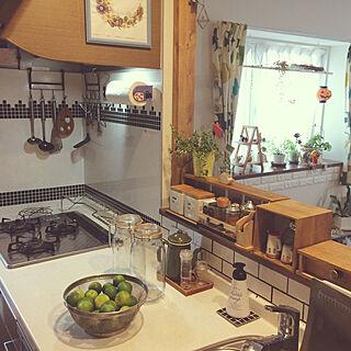 キッチン/2018.10.4/調味料棚リメイク/カウンターの上/カウンター上...などのインテリア実例 - 2018-10-04 08:49:57