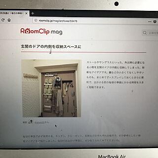 RC mag掲載/MacBookAir/マンション暮らし/部屋全体のインテリア実例 - 2018-01-08 11:55:10
