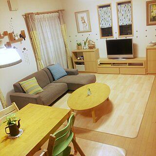 女性35歳の家族暮らし3LDK、ベルメゾン家具に関するserotiさんの実例写真