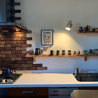 キッチン/陶芸家/絵/陶芸/ART...などのインテリア実例 - 2019-09-28 07:38:18