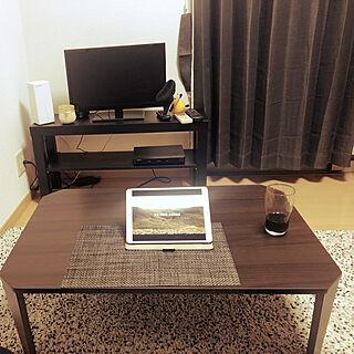 一人暮らし/IKEA/モノトーン/机のインテリア実例 - 2019-03-31 22:08:38