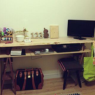リビング/作業台/TVボード DIY/DIY/手作り...などのインテリア実例 - 2014-01-19 15:10:52
