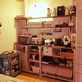 女性40歳の家族暮らし4LDK、収納に関するnoriさんの実例写真
