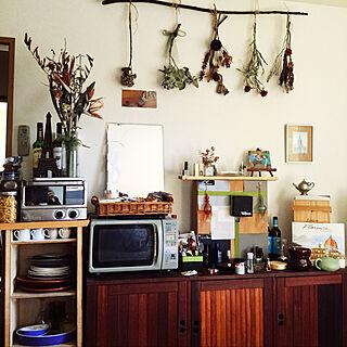 女性同棲1DK、100均 キッチンに関するacchanさんの実例写真