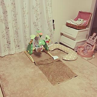 女性家族暮らし2LDK、赤ちゃん用品に関するMaRu.さんの実例写真