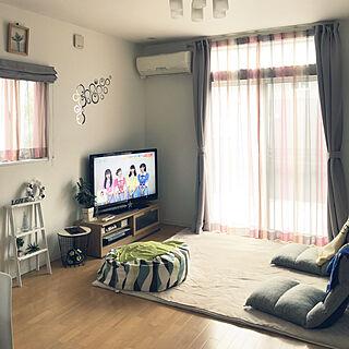家族暮らし、座椅子に関するkaoriさんの実例写真