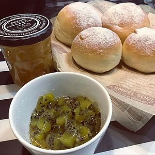 キッチン/手作りパン/ジャム作り/ジャム瓶/パン作り...などのインテリア実例 - 2019-02-28 08:44:22
