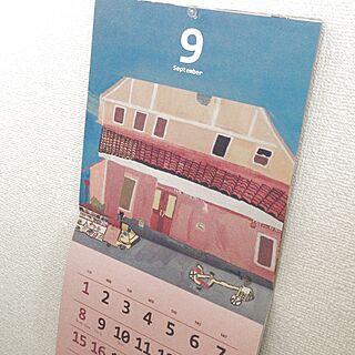 女性31歳の1K、2013カレンダーに関するlpclpclpcnさんの実例写真
