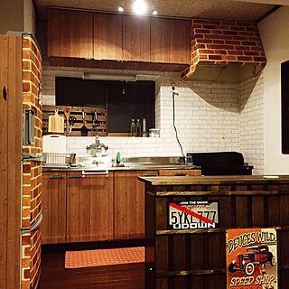 リメイクシート レンガの人気の写真(RoomNo.2392629)