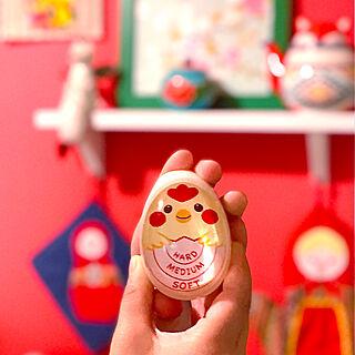 ゆで卵/キッチンツール/キッチン/カラフルインテリア/キッチン雑貨...などのインテリア実例 - 2020-06-13 15:29:24