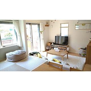 部屋全体/たたみスペース/山善/北欧ナチュラル/IKEA...などのインテリア実例 - 2021-04-22 08:33:58