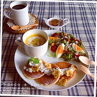 キッチン/RC名古屋/コーヒー/スープ/シーザーサラダ...などのインテリア実例 - 2014-10-11 15:28:55