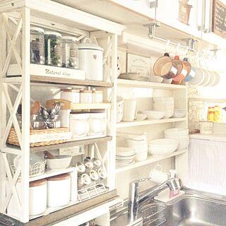 キッチン/整理収納アドバイザー/食器棚/突っ張り棚/スパイスラック...などのインテリア実例 - 2016-07-28 07:18:25