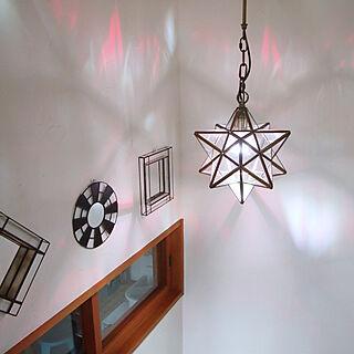 女性家族暮らし4LDK、星型ライトに関するkiwi_peaさんの実例写真
