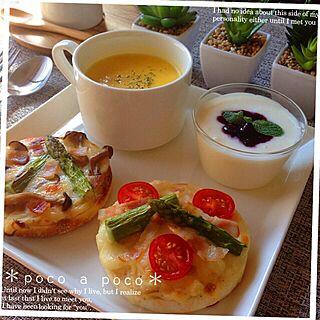 キッチン/RC名古屋/スープ/ヨーグルト/イングリッシュマフィン...などのインテリア実例 - 2014-10-17 15:11:37
