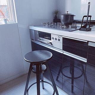 IKEA/カウンターチェア/キッチンチェア/キッチンスツール/シンプルな暮らし...などのインテリア実例 - 2020-10-13 09:43:32