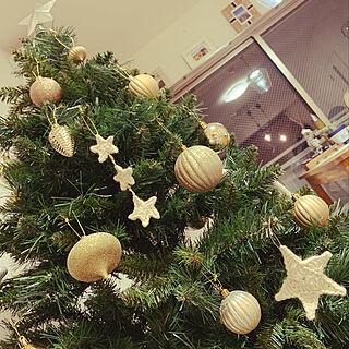 リビング/クリスマス/クリスマスツリー/DIY/ニトリ...などのインテリア実例 - 2019-10-19 19:59:52