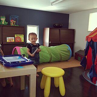 女性35歳の家族暮らし4LDK、kid's roomに関するayuさんの実例写真