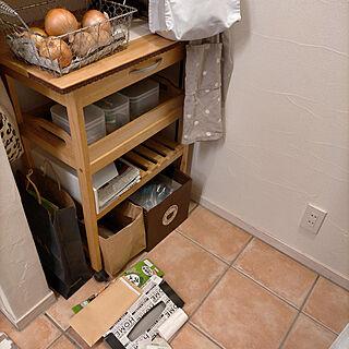 キッチン/ゴミを減らす/資源ごみ用/雑がみゴミ箱/ナチュラル...などのインテリア実例 - 2021-09-10 23:41:09