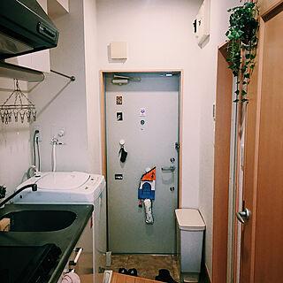 一人暮らし/フェイクグリーン/玄関/入り口のインテリア実例 - 2020-09-22 10:18:20