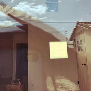 壁/天井/吹抜け窓からの陽射し/吹抜け/マイホーム途中経過/マイホーム記録のインテリア実例 - 2017-04-13 12:56:50
