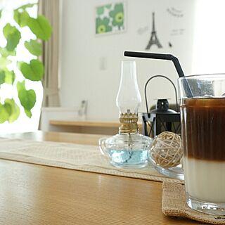 女性30歳の家族暮らし、2層コーヒー♡に関するpicklesさんの実例写真