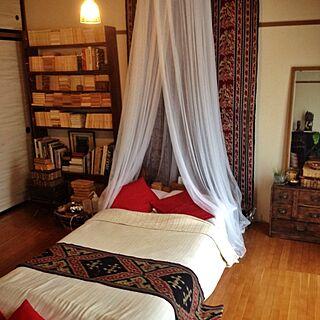 女性一人暮らし2LDK、バリ風なお部屋に関するgokizou2さんの実例写真