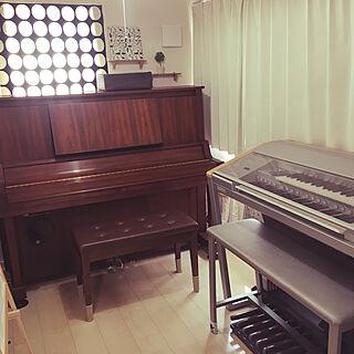 ピアノのある部屋/エレクトーンのある部屋/エレクトーンステージア/エレクトーン/楽器コーナー/ピアノ...などのインテリア実例 - 2019-03-27 10:39:00