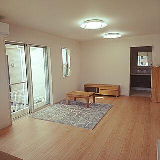女性家族暮らし3LDK、日の当たる部屋に関するonakaさんの実例写真