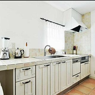 男性43歳の家族暮らし3LDK、natural kitchen &に関するdecofunabashiさんの実例写真