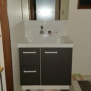 家族暮らし4LDK、LIXIL 洗面台に関するsakuraさんの実例写真