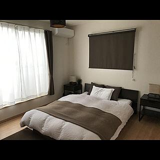 ベッド周り/ニトリ/IKEA/一人暮らし/初投稿のインテリア実例 - 2019-10-19 15:46:15