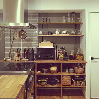 女性41歳の1LDK、LIXILキッチンに関するi93さんの実例写真